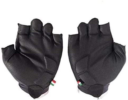 Bianchi Summer Glove Advance L Size Black x Celeste