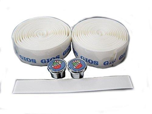 NEW GIOS Bar Tape and end cap White For Road Bike Handlebar //Handle Wraps